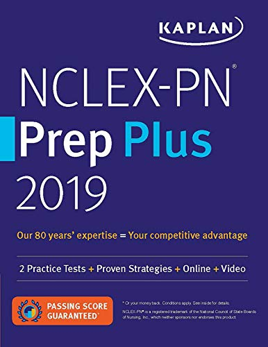 NCLEX-PN Prep Plus 2019 (2 Practice Tests + Proven Strategies + Online + Video)