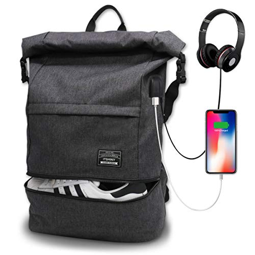 Waterproof Laptop Travel Backpack, Large College High School Backpacks for Men and Women
