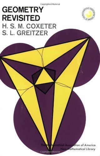 Geometry Revisited (Mathematical Association of America Textbooks) by Coxeter, H. S. M., Greitzer, Samuel L. (1996) Paperback