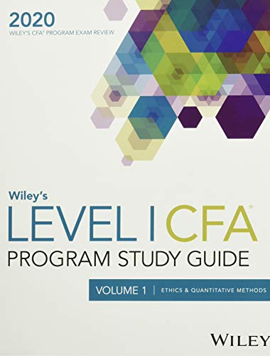 Wiley's Level I CFA Program Study Guide 2020: Complete Set