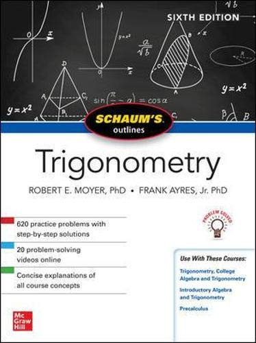 Schaum's Outline of Trigonometry, Sixth Edition (Schaum's Outlines)