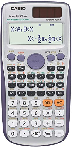 FX-115ESPLUS Casio FX115ESPLUS Scientific Calculator Black 1-Pack 1