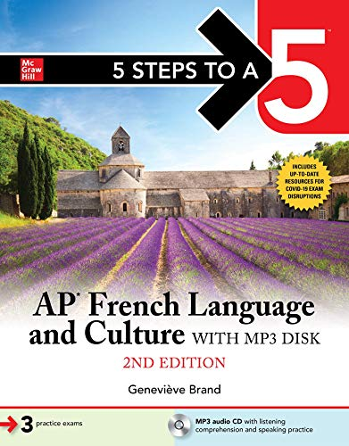 5 Steps to a 5: AP French Language and Culture with MP3 disk, Second Edition