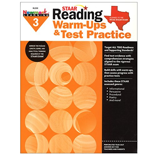 Newmark Learning STAAR Reading Warm-Ups & Test Practice Grade 3