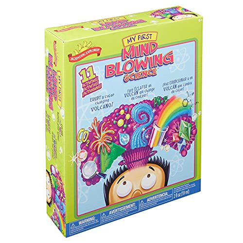 Scientific Explorer My First Mind Blowing Science Experiment Kit, 11 Mind Blowing Science Activities and Experiments (Ages 6+)