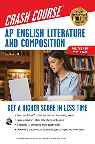 AP® English Literature & Composition Crash Course, Book + Online : Get a Higher Score in Less Time (Advanced Placement (AP) Crash Course