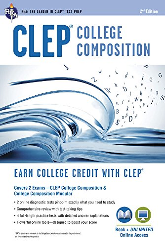 CLEP® College Composition 2nd Ed., Book + Online (CLEP Test Preparation)