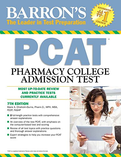 PCAT: Pharmacy College Admission Test (Barron's Test Prep)