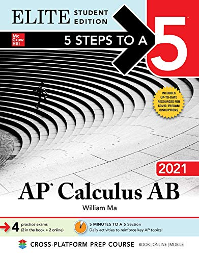5 Steps to a 5: AP Calculus AB 2021 Elite Student Edition