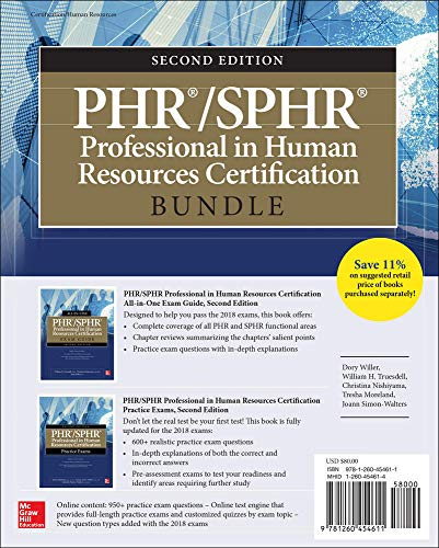 PHR/SPHR Professional in Human Resources Certification Bundle, Second Edition