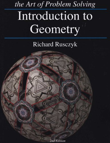Art of Problem Solving Introduction to Geometry Textbook and Solutions Manual 2-Book Set