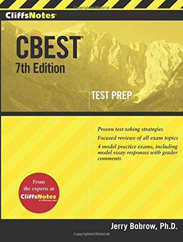 CliffsNotes Cbest, 7th Edition (Cliffs Test Prep Cbest)