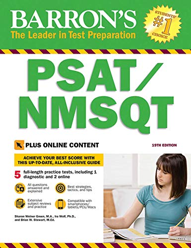 Barron's PSAT/NMSQT, 19th Edition: with Bonus Online Tests (Barron's Test Prep)