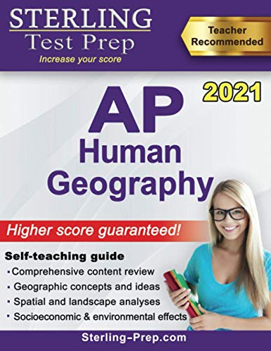 Sterling Test Prep AP Human Geography: Complete Content Review for AP Exam