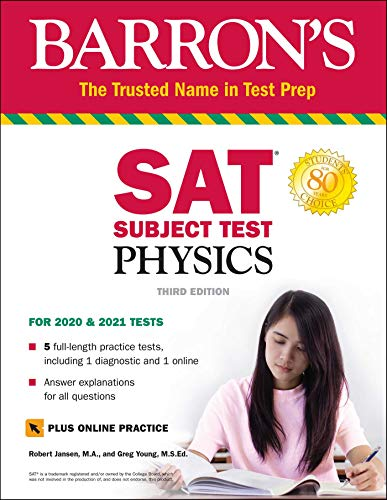 SAT Subject Test Physics with Online Test (Barron's Test Prep)