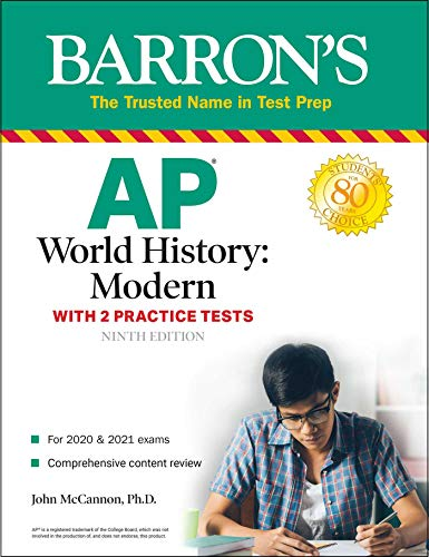 AP World History: Modern: With 2 Practice Tests (Barron's Test Prep)