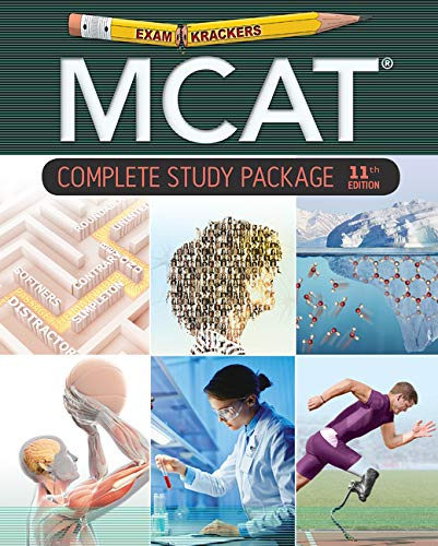 Examkrackers MCAT Study Package: Chemistry, Biology 2 Systems, Biology 1 Molecules