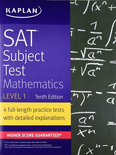 SAT Subject Test Mathematics Level 1 (Kaplan Test Prep)