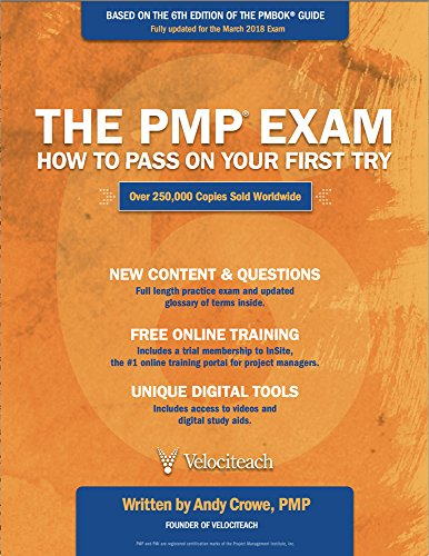 The PMP Exam: How to Pass on Your First Try, Sixth Edition