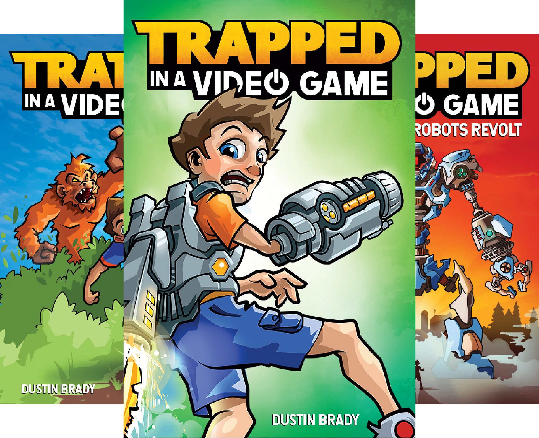 Trapped in a Video Game (5 Book Series)