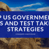 AP US Government Tips and Test Taking Strategies