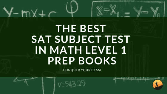 Best SAT Subject Test In Math Level 1 Prep Books