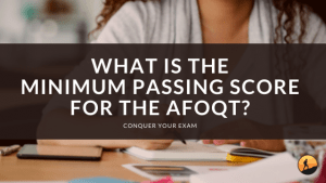 What is the Minimum Passing Score for the AFOQT?